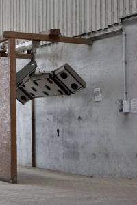 Das Solarium auf dem Reiterhof Moenchesch mit Münzautomat